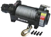 Recovery winch 6800 kp