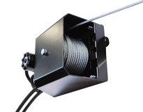 Hydraulic winch We-1400 M3S12 with radio control