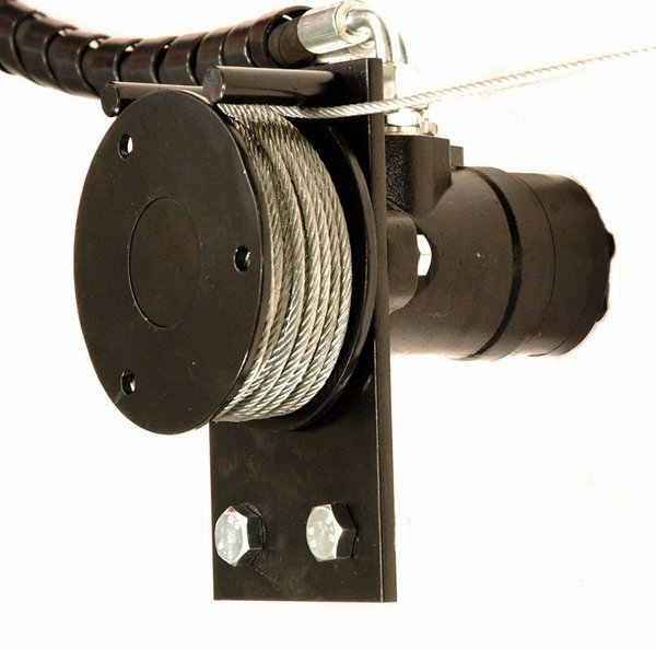Hydraulic winch We-700 with radio