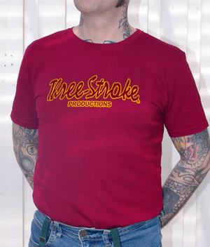 T-shirt- Classic-Burgundy