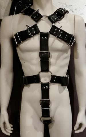 Läderharness Bondage Kropp