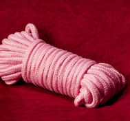 Pink Cotton Bondage Rope