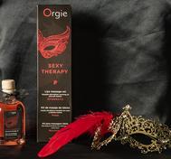 ORGIE Lips Massage Set - Erdbeere