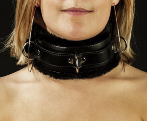 Unisex Padded Collar with Fur
