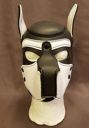 Neoprene Puppy Hood All Black
