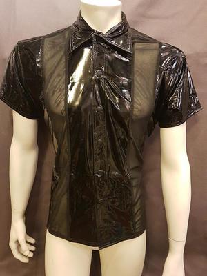 PVC-Skjorta med Mesh