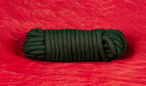 Black Cotton Bondage Rope
