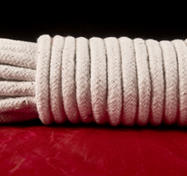 White Cotton Bondage Rope