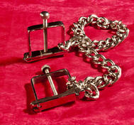 C-clamps with Chain