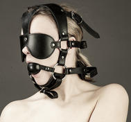 Padded Headgear Harness with ball gag