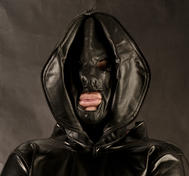 Leather Double Face Hood