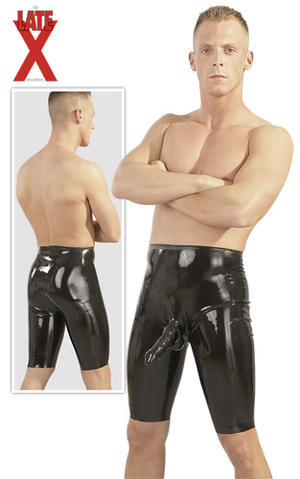 Latex Cycle Shorts