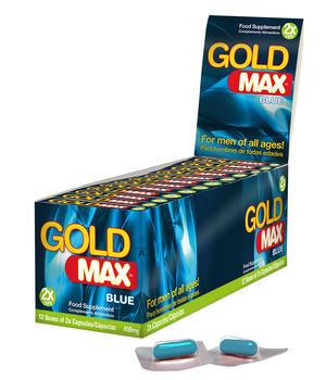 GoldMAX BLUE (2 Kapslar X 12Pack)