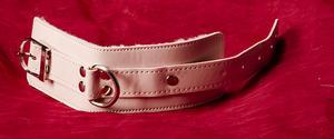 Rosa Handbojor med Fuskpäls
