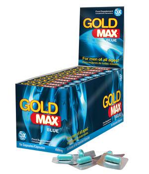 GoldMAX BLÅ (5 Kapslar X 10Pack)