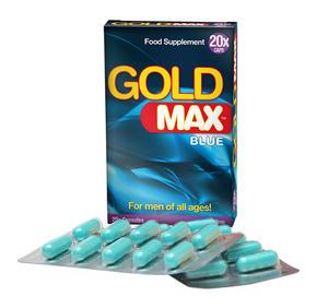 GoldMAX BLÅ (20 Kapslar X 10Pack)