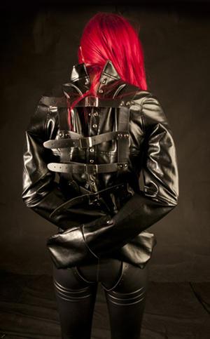 Soft PU Leather  Straitjacket