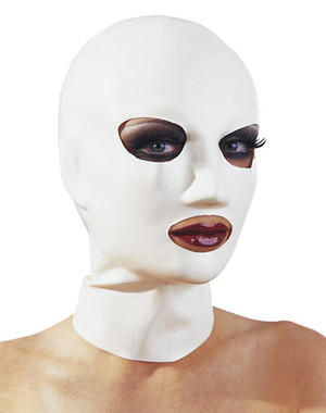 White latexmask