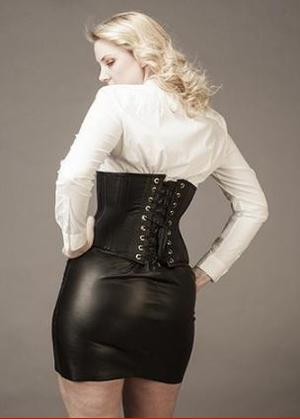 Underbust Sheep Leather(T-shirt style)