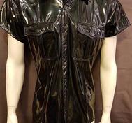 PVC Shirt with Epaulettes