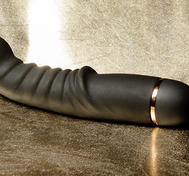G- and P-spot Vibrator, Ribbed, 10-speed