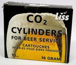 LISS Kolsyrepatroner 16g 10-pack