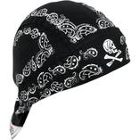 Zan Headgear Black Paisley