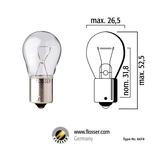 Glödlampa 21W BAU15S