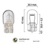 Glödlampa 21/5W T20 W3x16Q