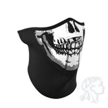 Zan Headgear halvmask 3 Panel Skull