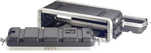 """2-Units/19"""" Rack Abs Shal.Case"""