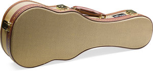 "21""Gold Tweed Soprano Uku.Case"