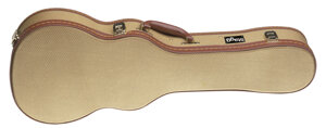 "27""Gold Tweed Tenor Ukule.Case"