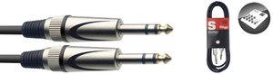3M/10F AUDIO CBL DLX STER.PLUG