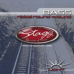 4-Str Bass Set/Ni Rnd Wd/Lt