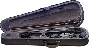 4/4 Violin Solid Maple/Soft case Black