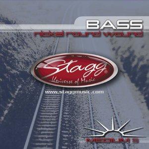 5-Str Bass Set/Ni Rnd Wd/Med