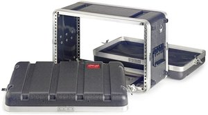 """6-Units/19"""" Rack Abs Shal.Case"""