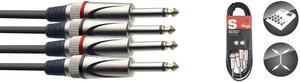60CM/2FT TWIN CABLE PLUG-PLUG