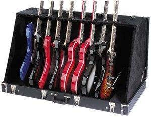 8 Elec Or 6 Acous Guitar Case