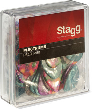 BOX OF 100PCS PLECTRA, 1.50MM
