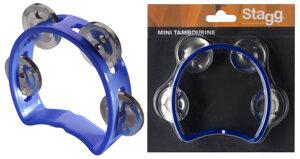 Cutaway Tambourine 4Jing Blue
