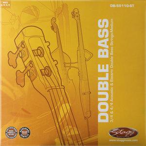 DBL BASS.STR.SET/STL/EDB-3/4/4