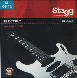 Elgitarrsträngar Stagg EL-0942