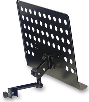 Large Mus.Stand Plate With Arm