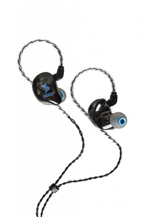 4-Driver In-Ear Monitor Black