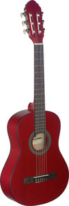 1/2 Linden Classic Guitar/Red
