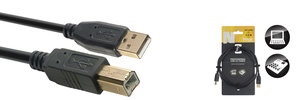 1.5M/5Ft Usb Cable/Std A-B 2.0