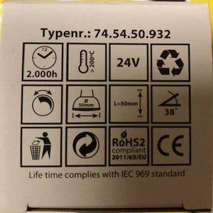 LT Toplux 24V/20WGU5,3/38 gr