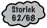 Storlek 62/68